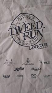 Tweed Run tote bag