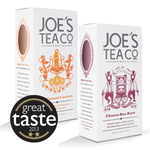 Joe's Tea Gets Gold Stars